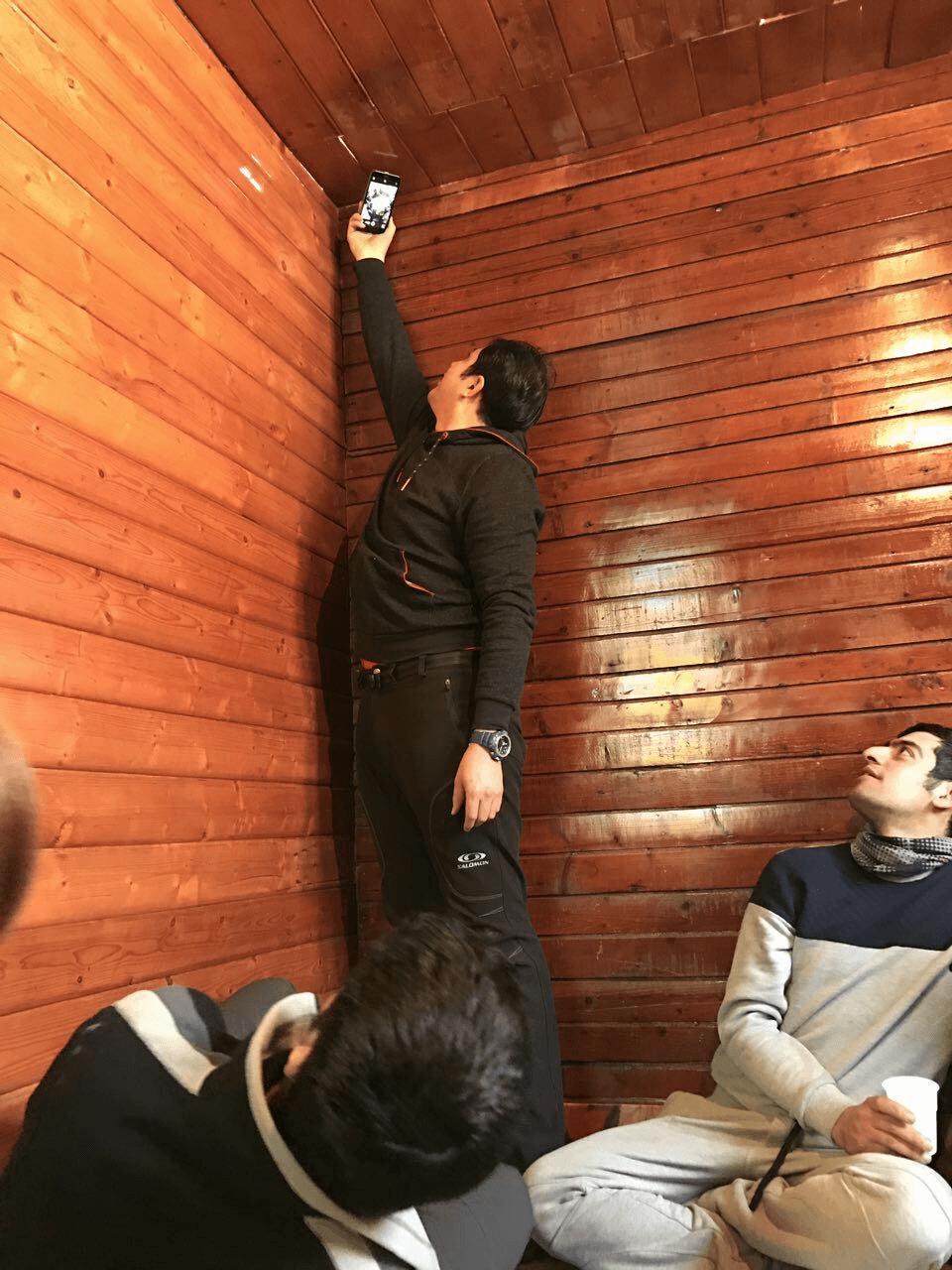 مهدی پارسا - عکس از س�ر به ماسال ۹۵ - Mehdi Parsa Masal trip